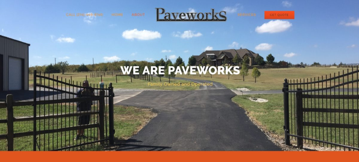 Paveworks Texas About