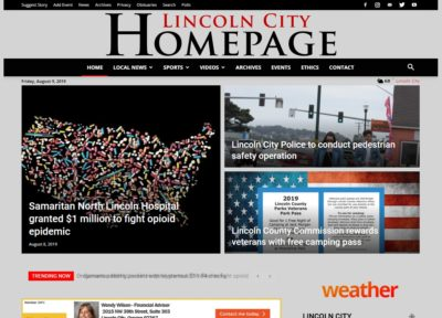 Lincoln City Homepage