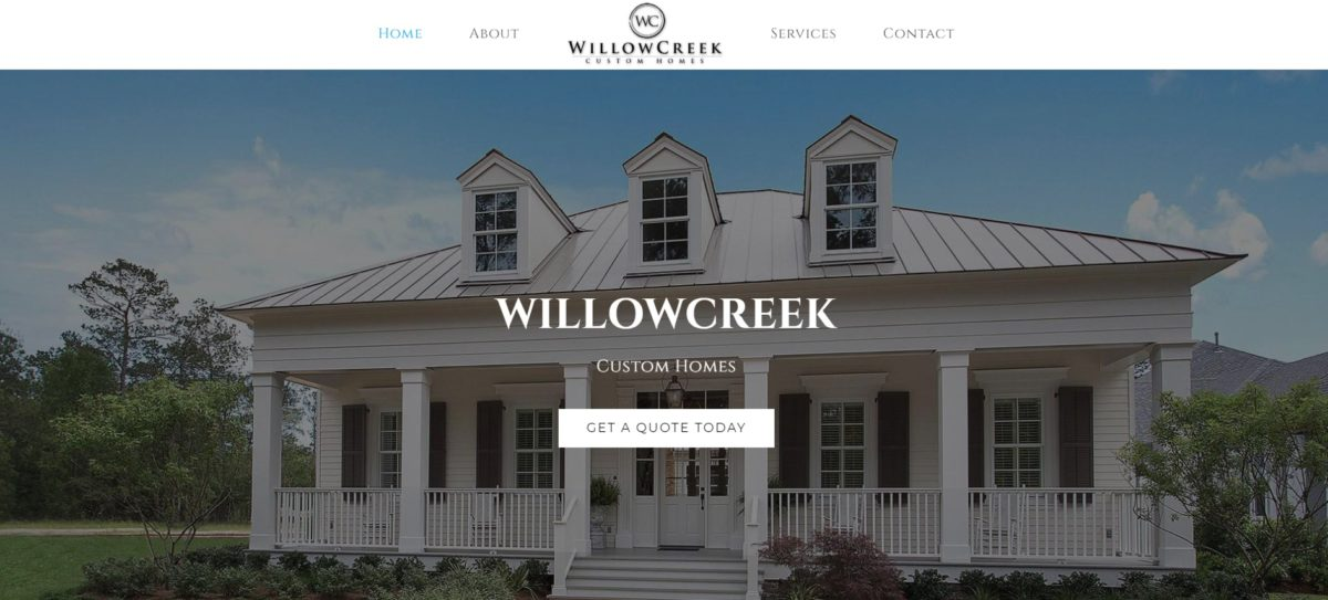 willowcreek custom homes